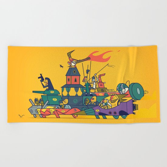 Wacky Max Beach Towel