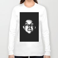 britney spears Long Sleeve T-shirts featuring Bald Britney Spears  by Jessica Buie