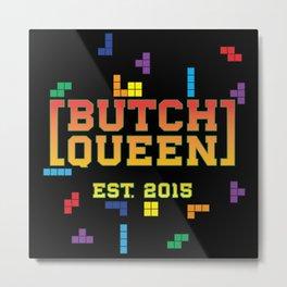 BQ - Tetris Metal Print