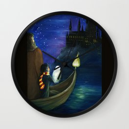 Harry's Journey Wall Clock