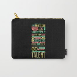 Lab No. 4 Getting Ahead Sophia Loren Motivational Quotes Carry-All Pouch
