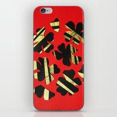 Benihana (Red Flower) iPhone & iPod Skin