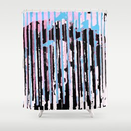 ODD Mikey - Pinked Doggy Shower Curtain