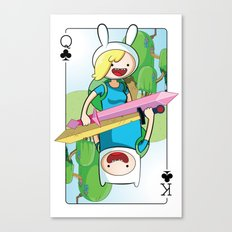 Adventure Time: Finn & Fionna Canvas Print