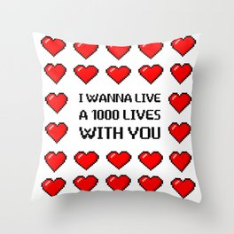 A 1000 Throw Pillow