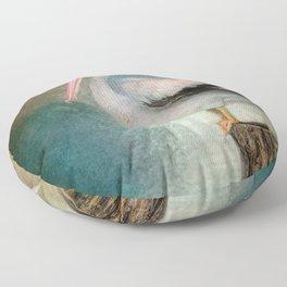 Perched Pelican Floor Pillow