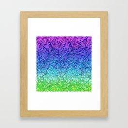 Grunge Art Abstract G57 Framed Art Print