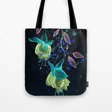 flower earrings Tote Bag