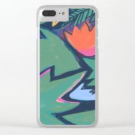 Dreamed Garden 7 Clear iPhone Case