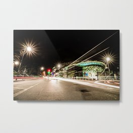 Tottenham Stadium by Night Metal Print