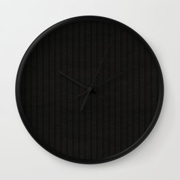 Antiallergenic Hand Knitted Black Wool Pattern - Mix & Match with Simplicty of life Wall Clock