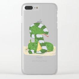 Sal Clear iPhone Case