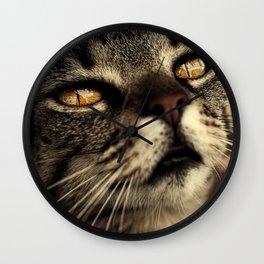 cat Wall Clock
