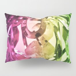 Lights and crystals - New age media Pillow Sham
