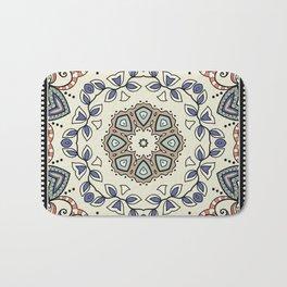 Seamless pattern with tribal ethnic mandala Bath Mat