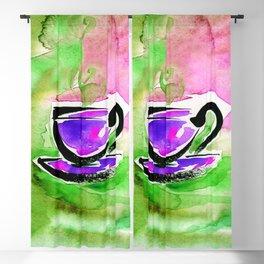 Coffee Dreams 13g by Kathy Morton Stanion Blackout Curtain
