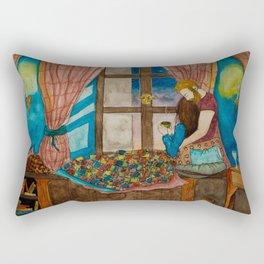 A Lovely Evening Rectangular Pillow