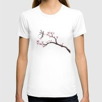 cherry blossom T-shirts featuring Cherry Blossom by Elisa Camera