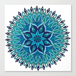 Mandala of Intuition Canvas Print