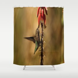 One Moment At Time Shower Curtain