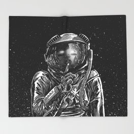 The Secrets of Space Throw Blanket