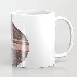 Minimal Abstract Greek Vase 7 - Aryballos - Terracotta Series - Modern, Contemporary Print - Taupe Coffee Mug