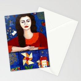 Gracias a la vida collage Stationery Cards