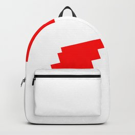 Falling Gamer Heart Backpack