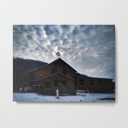 The Abandoned Dairy Metal Print