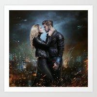 One Last Kiss  Art Print