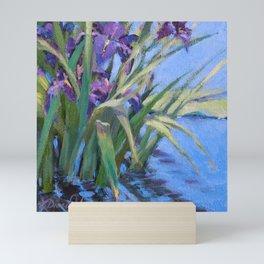 Sun Day—Iris Mini Art Print