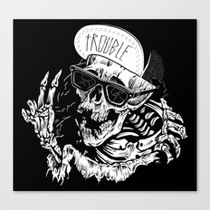 TROUBLE RIPPER / TROUBLE FLY Canvas Print