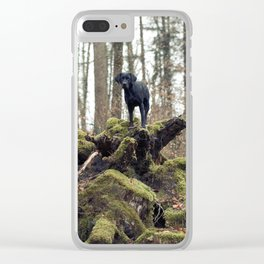Top Dog Clear iPhone Case