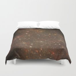 Rosette's Star Splattered Canvas Duvet Cover