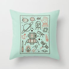 Cosmic Frontier  Throw Pillow
