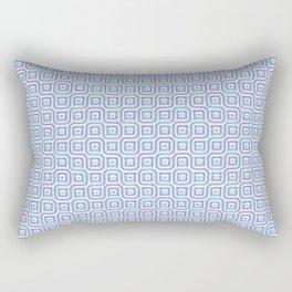 Geometric Mosaic Connections Rectangular Pillow