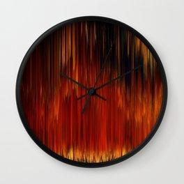 Planet Pixel Curtain Call Wall Clock