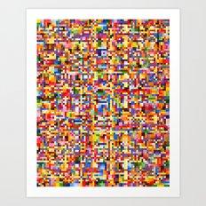 Uplink Detail Art Print