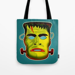 Frankenstein Monster Mask Tote Bag