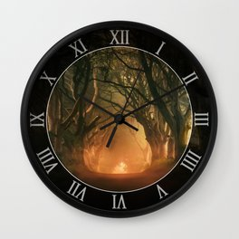 When the day begins... Wall Clock