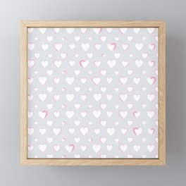 Made for you my heart 34 Framed Mini Art Print