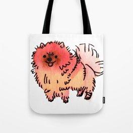 Pomelo - Dog Watercolour Tote Bag
