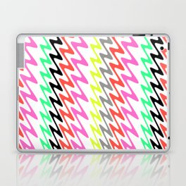 Zig Zag Stripes Laptop & iPad Skin