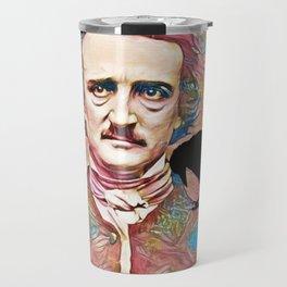 Literary Pop Culture, Edgar Allan Poe Travel Mug