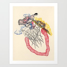 Sensory Systems 3 Art Print