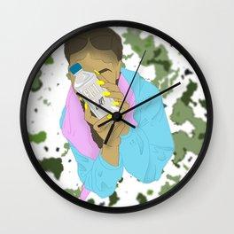 Fiji Girl Wall Clock