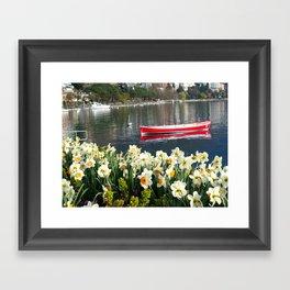 Swiss Riviera IV Framed Art Print