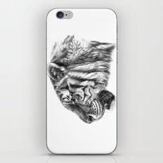 Tiger profile G077 iPhone & iPod Skin