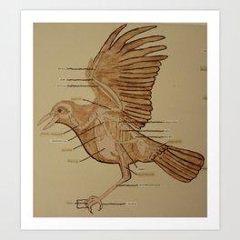 Wing Bird 2 Art Print