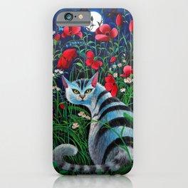 Cat in the Night iPhone Case